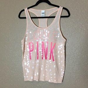 "PINK Victoria's Secret Muscle Tee ""Love PINK"""